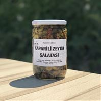 Kaparili Zeytin Salatası